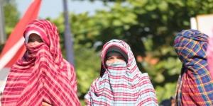 rimpu hijab khas suku mbojo